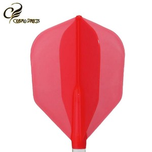 Piórka Cosmodarts Fit Flight Air czerwone Shape