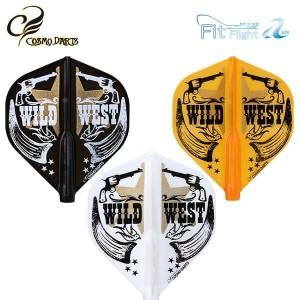 Piórka Cosmodarts Air Fit Flight Cali West Standard