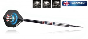 Lotki do darta Winmau BDO Darts 24g