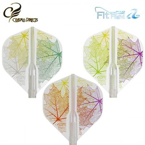 Piórka do lotek Cosmodarts Fit Flight Air Juggler Queen Leaf