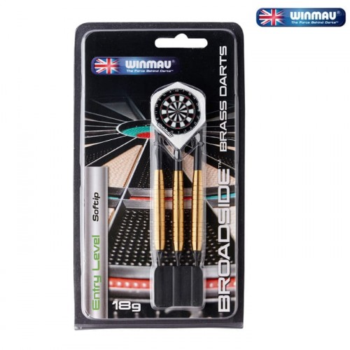 Lotki do darta Winmau Broadside 18g softip