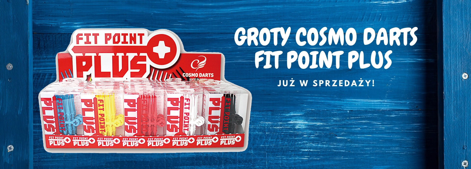 Groty softip Cosmo Darts Fit Point Plus